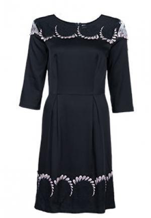 Платье BONA DEA. Цвет: черный