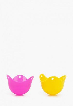 Форма для варки яиц ZDK 2 шт.. Цвет: разноцветный