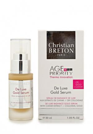 Сыворотка для лица Christian Breton Paris «Золотая роскошь» увядающей кожи, 30. Цвет: белый