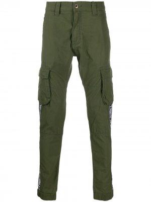 Al Tape trousers Alpha Industries. Цвет: зеленый