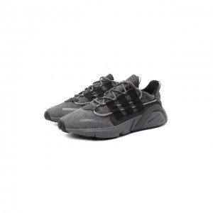 Кроссовки Lxcon adidas Originals. Цвет: серый