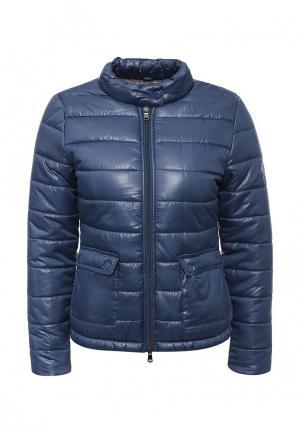 Куртка утепленная Frank NY. Цвет: синий