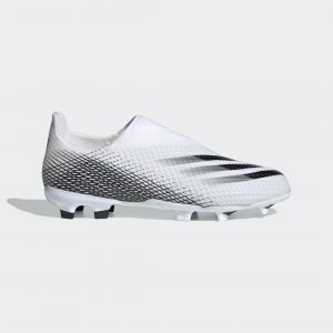 Футбольные бутсы X Ghosted.3 Laceless FG Performance adidas. Цвет: черный