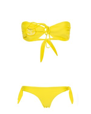 Бикини SMC80 s лимонный Sweet Matilda. Цвет: лимонный