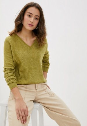 Пуловер Rodier. Цвет: зеленый