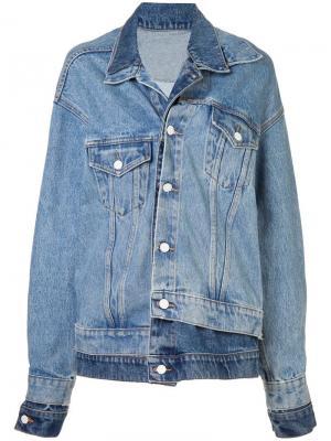 Джинсовая куртка свободного кроя Monse