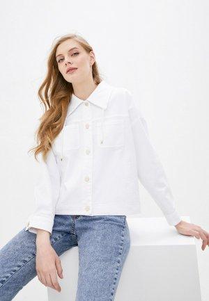 Куртка джинсовая iBlues. Цвет: белый