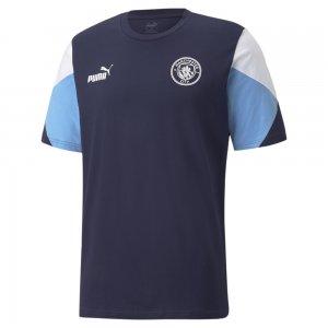 Футболка Man City FtblCulture Mens Football Tee PUMA. Цвет: синий
