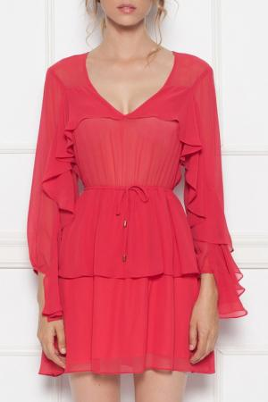 Платье Nissa. Цвет: красный