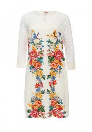 Платье Indiano Natural. Цвет: разноцветный