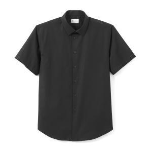 Рубашка прямого покроя с короткими рукавами CHRISTOPHE LA REDOUTE COLLECTIONS. Цвет: белый,синий морской,черный