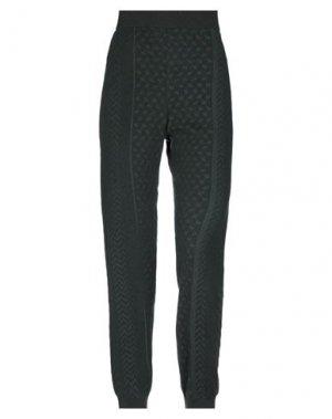 Повседневные брюки LALA BERLIN. Цвет: темно-зеленый