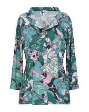 Pубашка BINI Como. Цвет: изумрудно-зеленый