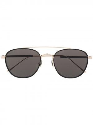 Солнцезащитные очки C Cartier Eyewear. Цвет: золотистый