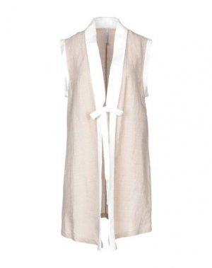 Легкое пальто PIANURASTUDIO. Цвет: светло-коричневый