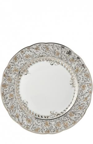 Тарелка обеденная Eden Platine Bernardaud. Цвет: бесцветный