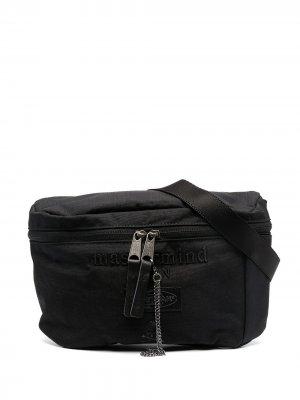 Поясная сумка из коллаборации с Mastermind Eastpak. Цвет: черный