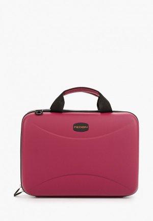 Чехол для ноутбука Fedon 1919 13. Цвет: розовый