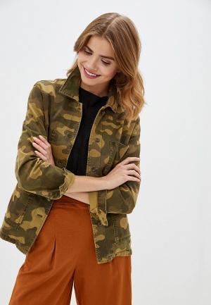 Куртка Mango - WORKER. Цвет: хаки