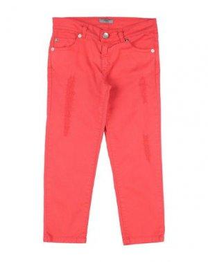 Джинсовые брюки GRANT GARÇON. Цвет: красный