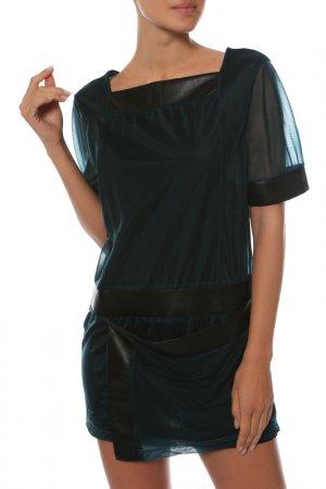 Платье-туника Balenciaga. Цвет: зеленый
