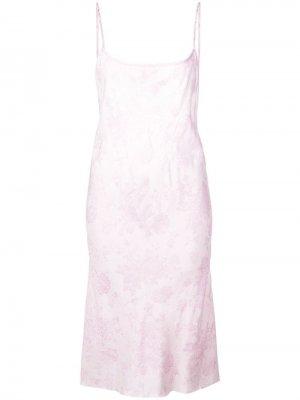 Короткое платье на бретелях Ann Demeulemeester