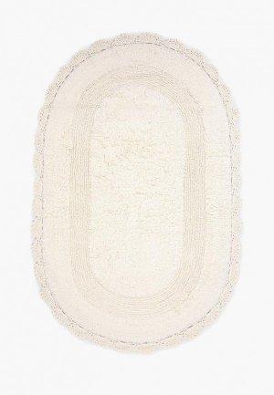 Коврик для ванной Tete-a-Tete ZEFIR. Цвет: белый