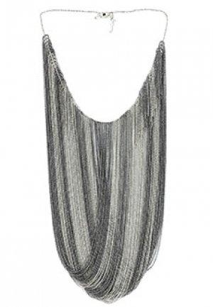 Ожерелье FABIANA FILIPPI. Цвет: серый