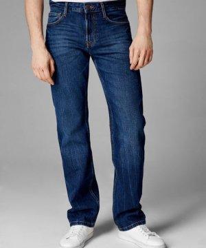 Прямые джинсы O`Stin. Цвет: синий