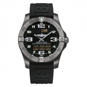 Часы Aerospace EVO Black Breitling. Цвет: чёрный