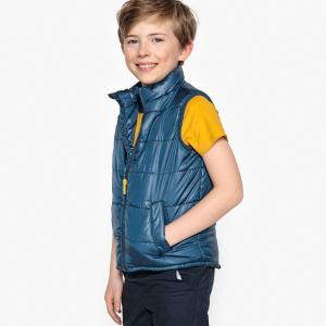 Куртка стеганая без рукавов, 3-12 лет LA REDOUTE COLLECTIONS. Цвет: синий морской,темно-синий