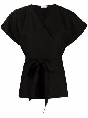 Блузка Dora с завязками Filippa K. Цвет: черный