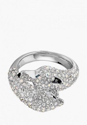 Кольцо Swarovski® Polar Bestiary. Цвет: серебряный