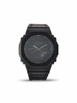 Наручные часы GA-2100-1A1ER 50 мм G-Shock. Цвет: черный