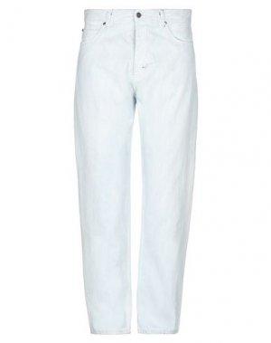 Джинсовые брюки ROBERTO CAVALLI. Цвет: синий