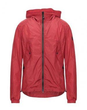 Куртка ADHOC. Цвет: красный