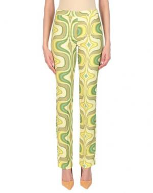 Повседневные брюки COMPAGNIA ITALIANA. Цвет: желтый