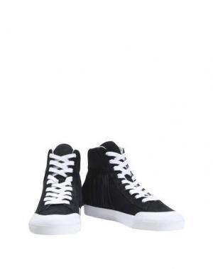 Высокие кеды и кроссовки LOEFFLER RANDALL. Цвет: черный