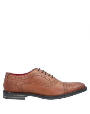 Обувь на шнурках BASE London. Цвет: коричневый