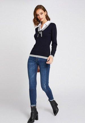 Пуловер Morgan. Цвет: синий