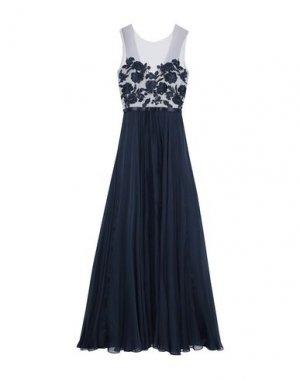 Длинное платье CATHERINE DEANE. Цвет: темно-синий