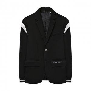 Пиджак Givenchy. Цвет: чёрный