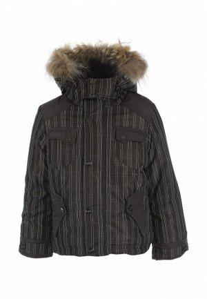 Куртка утепленная Born. Цвет: серый