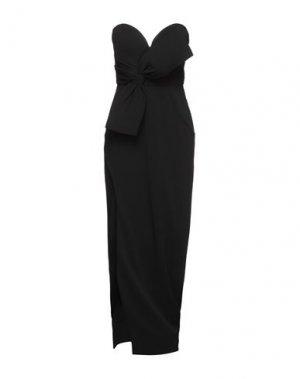 Длинное платье FOREVER UNIQUE. Цвет: черный