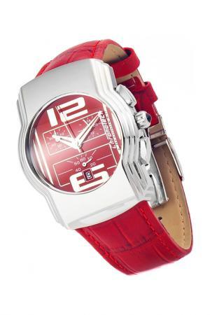 Watch Chronotech. Цвет: silver, red