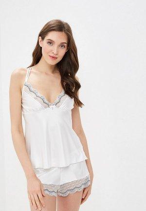 Пижама Gorsenia. Цвет: белый