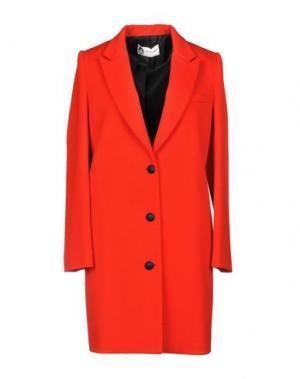 Пальто LANVIN. Цвет: красный