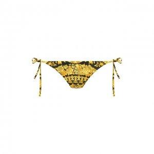 Плавки-бикини Versace. Цвет: чёрный