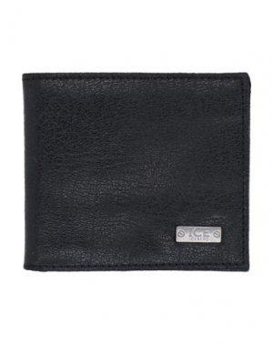 Бумажник ICE ICEBERG. Цвет: черный