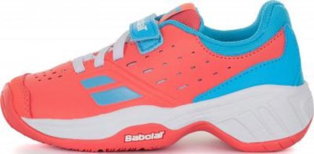 Кроссовки для девочек Pulsion All Court, размер 28 Babolat. Цвет: розовый